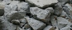concrete/bricks waste type