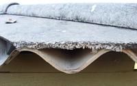 Asbestos sheeting